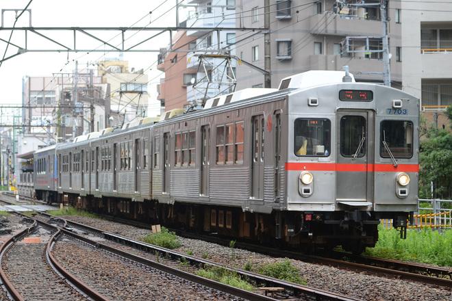【東急】7700系7903F入場回送