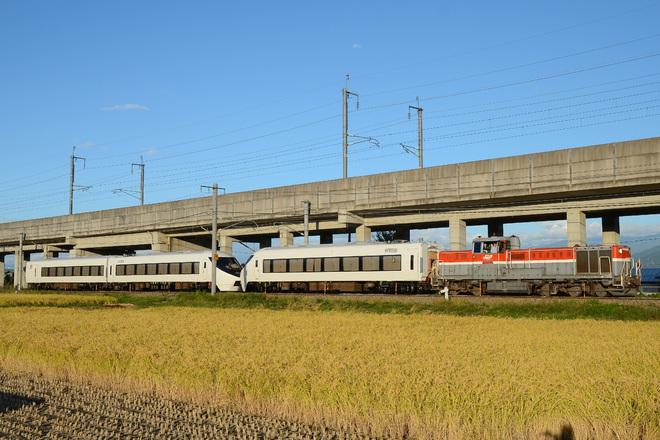 【富士急】8500系(元371系)甲種輸送