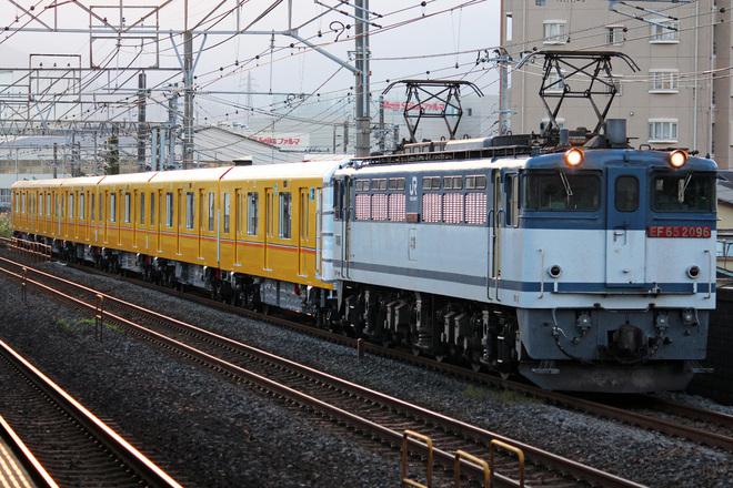 【メトロ】1000系1126F 甲種輸送