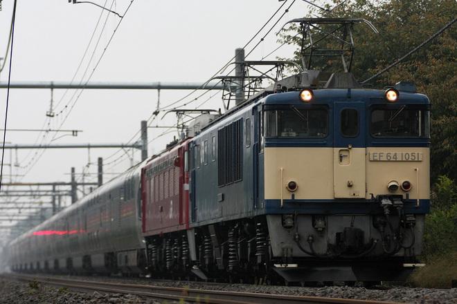 【JR東】E26系 秋のカシオペアクルーズ 運転