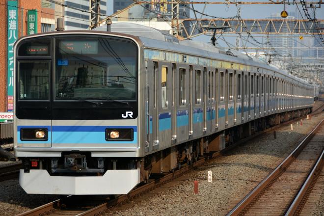 【JR東】E231系ミツK5編成 東京総合車両センター出場