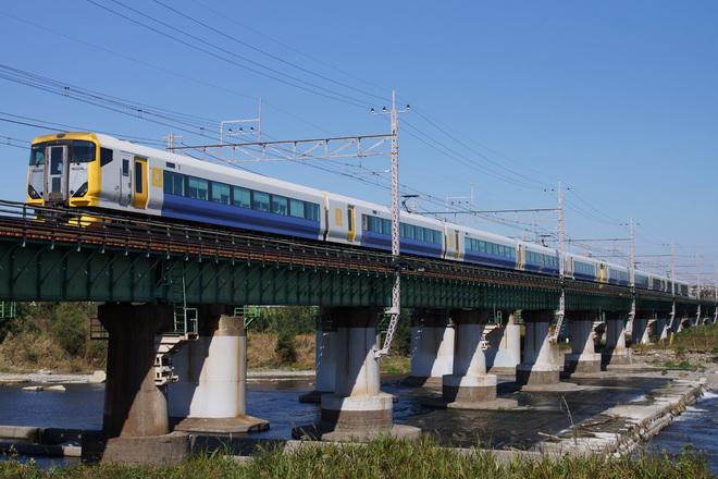 【JR東】E257系500番台幕張車による団体臨時列車運転