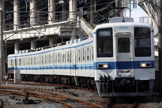 【東武】8000系8198F南栗橋工場へ入場