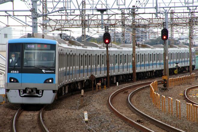 【小田急】4000形4063F常磐緩行線からの返却回送