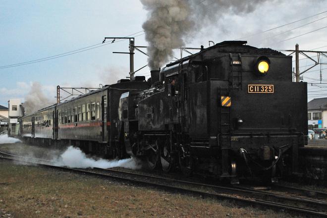 【真岡】SLもおか号回送列車SLPPによる運行