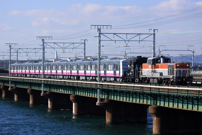 【新京成】N800形N848編成甲種輸送