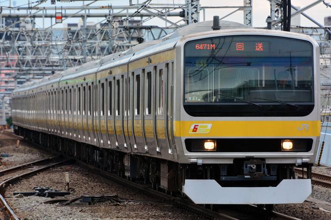 【JR東】E231系ミツB31編成 東京総合車両センターを出場