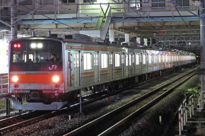 【JR東】205系5000番台M23編成 幕張車両センターから返却