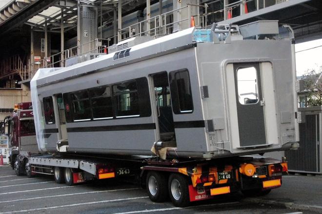 【湘モノ】5000系5611F車体搬入