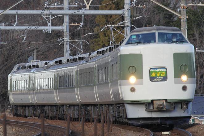 【JR東】189系N102編成使用のあずさ85号