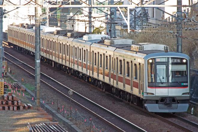 【東急】5000系5120F試運転