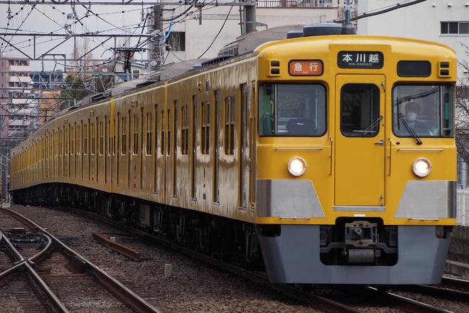 【西武】2000系2007Fの行き先表示器が字幕式へ