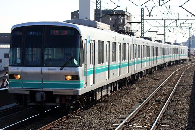 【メトロ】9000系9113F 綾瀬工場入場