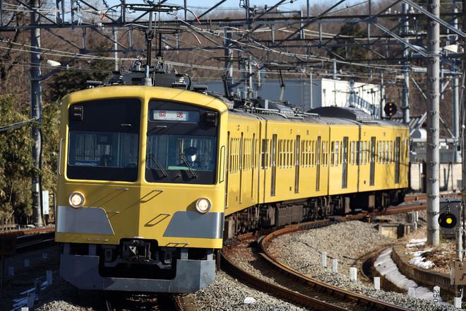 【西武】新101系263F武蔵丘へ入場