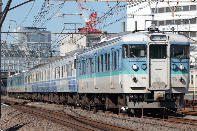 【JR東】115系新ニイN17編成大宮総合車両センター入場