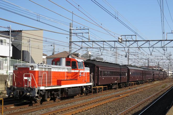 【JR東】旧型客車6両を幕張車両センターへ回送