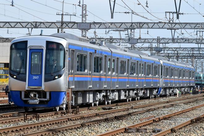 【西鉄】3000形3017F+3018F 試運転