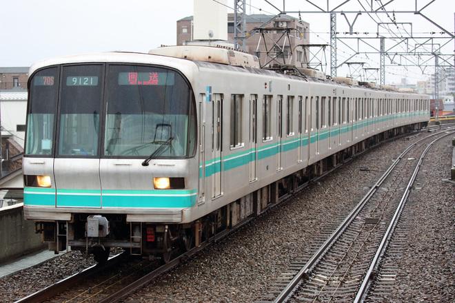 【メトロ】9000系9121F 綾瀬工場へ入場