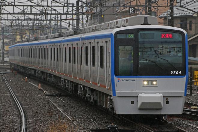 【相鉄】9000系9704F 出場試運転
