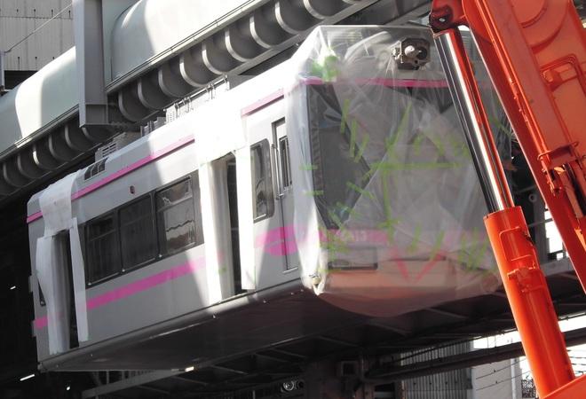 【湘モノ】5000系5613F車体搬入