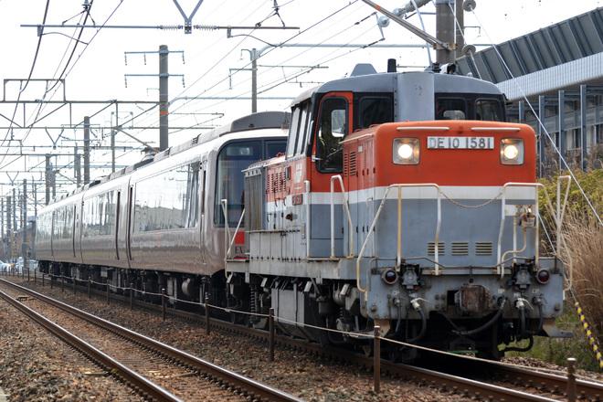 【小田急】30000形30051F(EXE) 日本車輌入場甲種輸送