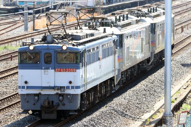 【JR貨】EF510-509・EF510-510が高崎機関区へ
