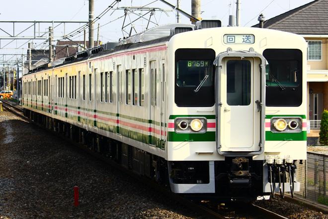 【JR東】107系R11編成+R12編成 4連で大宮総合車両センター出場