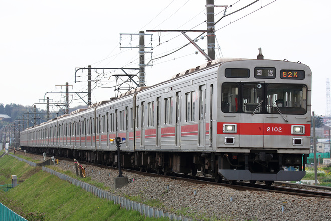 【東急】2000系2002F長津田車両工場へ入場