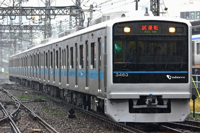 【小田急】3000形3263F試運転