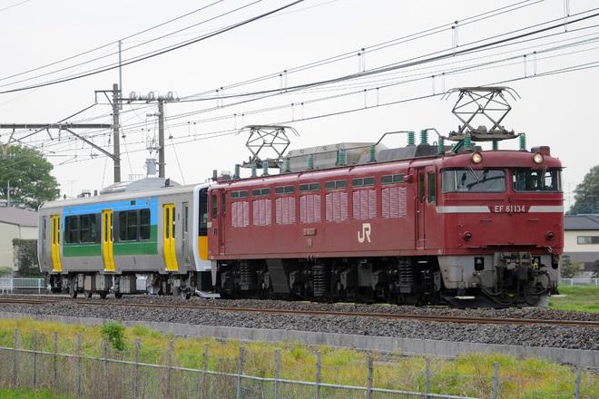 【JR東】キハE130-101 郡山出場配給