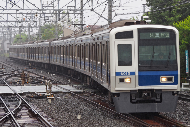 【西武】 6000系6115Fが試運転