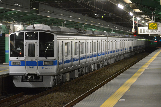 【小田急】1000形1095F 喜多見検車区唐木田出張所へ回送
