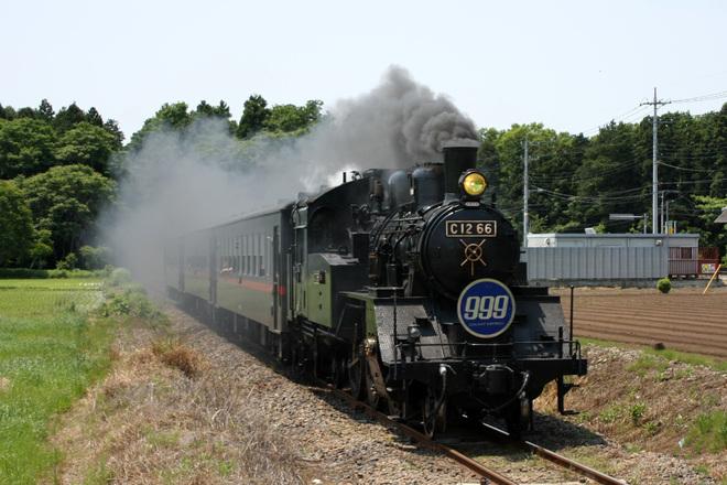 【真岡】SL「真岡鐵道 999号」運転