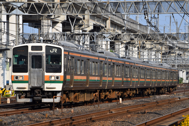 【JR東】211系 団臨ひまわり号運転