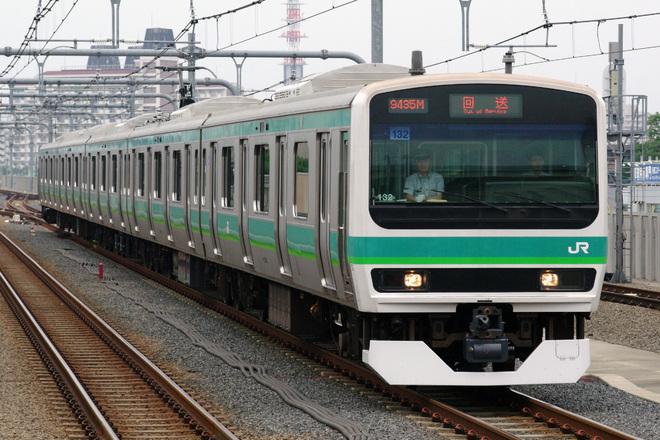 【JR東】E231系マト132編成 長野総合車両センター出場