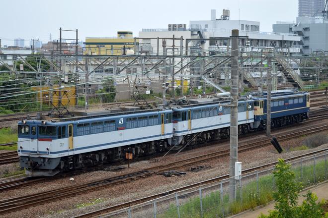 【JR貨】EF65-2117+EF65-2139 大宮総合車両所入場