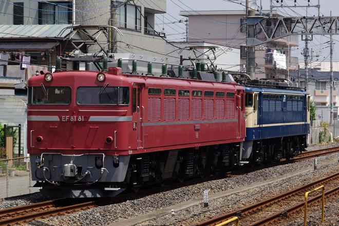 【JR東】EF81-81+EF65-1115 大宮展示返却配給