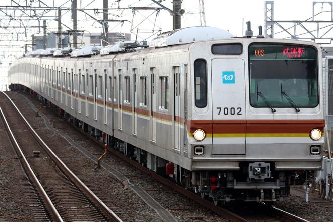 【メトロ】7000系7102F 綾瀬工場出場
