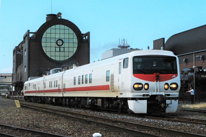 【真岡】キヤE193系(Easti-D)が真岡鐵道へ入線