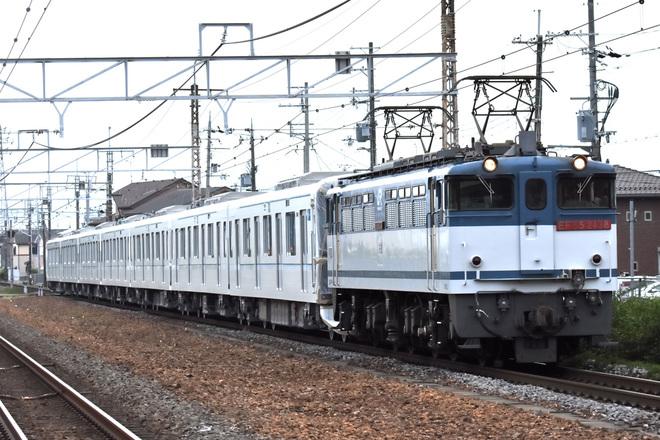 【メトロ】13000系13101F甲種輸送