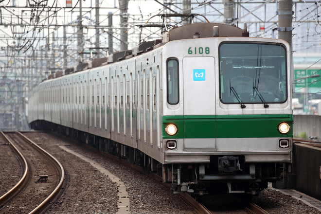 【メトロ】6000系6108F 新木場車両基地へ廃車回送