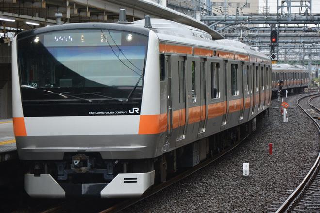 【JR東】E233系H59編成東京総合車両センター出場