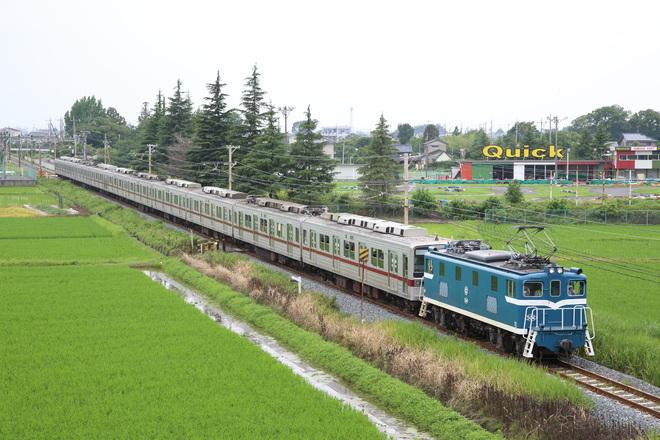 【東武】10030系11661F+11441F 南栗橋車両管理区入場