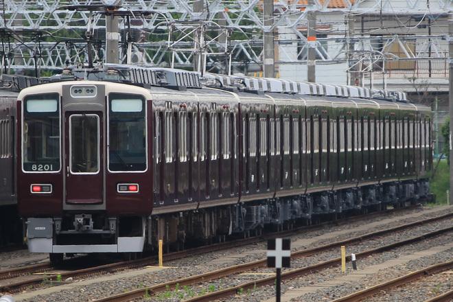 【阪急】7000系7014Fリニューアル車10両連結試験実施