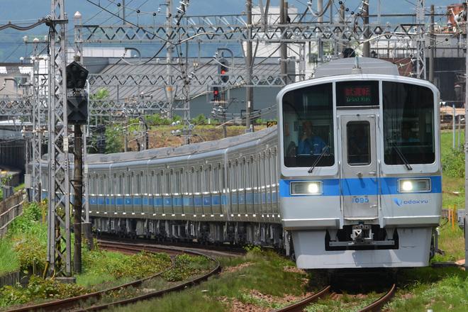 【小田急】1000形1095F(10両固定化改造車)試運転