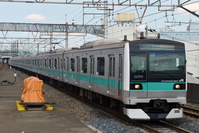 【JR東】E233系マト17編成 長野入場