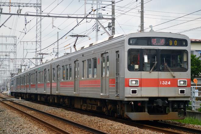 【東急】1000系1024F 長津田車両工場入場