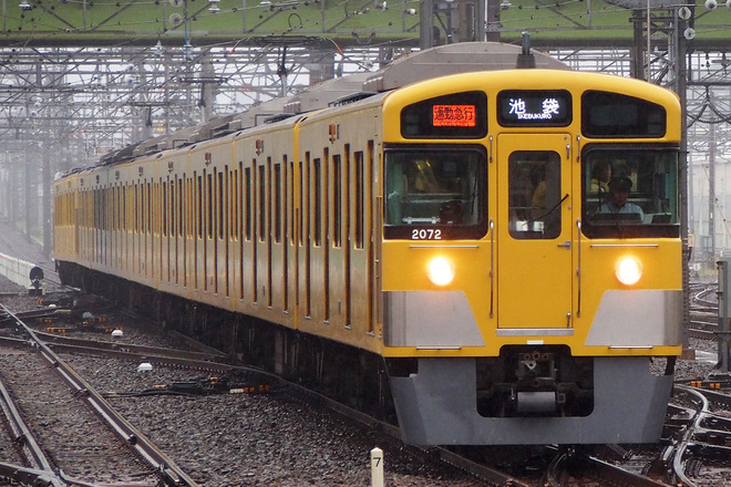 【西武】新2000系2071F 池袋線車両所へ転属
