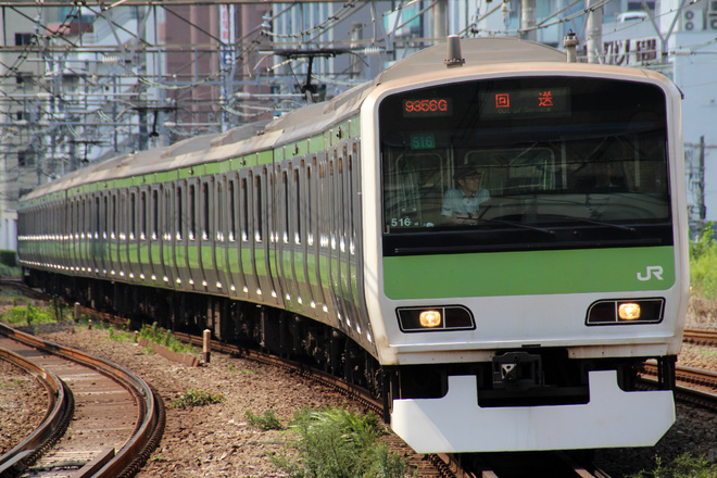 【JR東】E231系山手線 内回り乗務員訓練