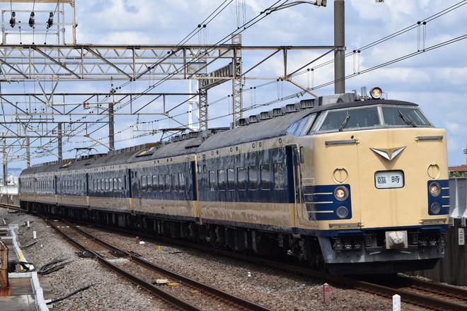 【JR東】583系使用のTDR行き天理臨運転